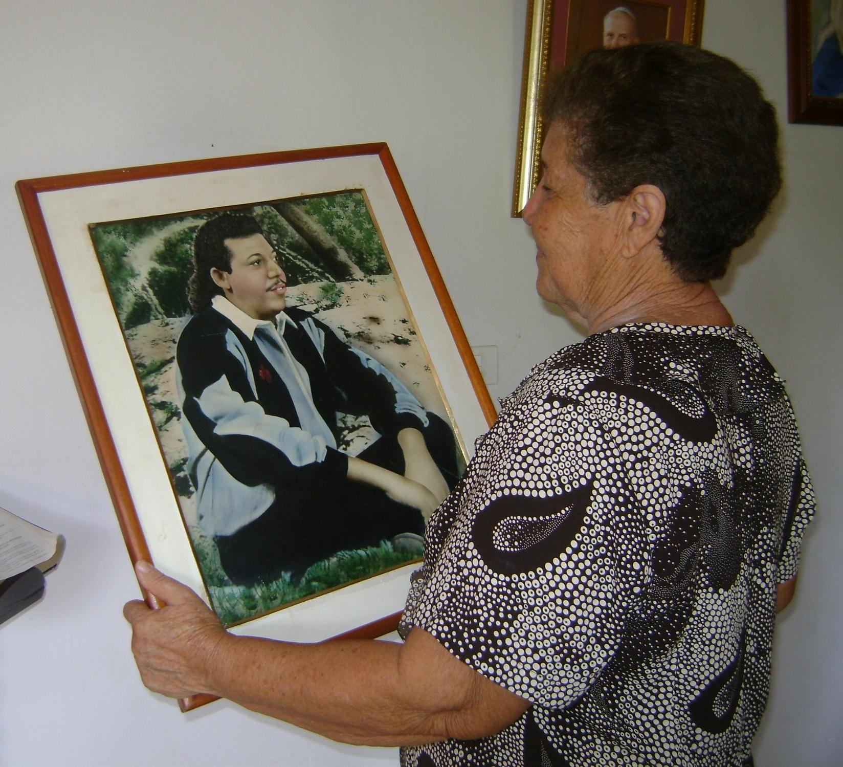 Dalia Zuñiga, mama de Juancho