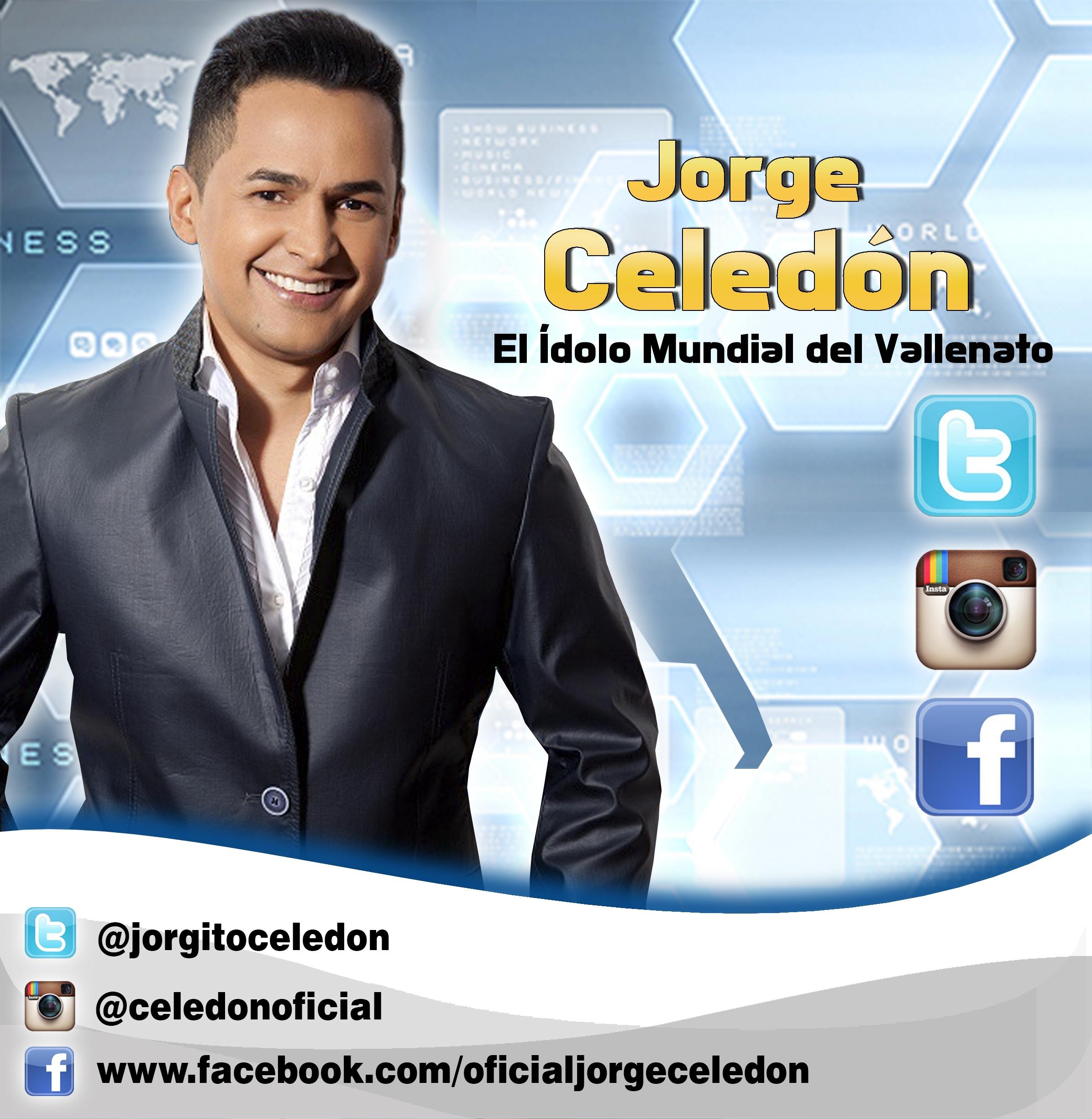 Jorge Celedón - Redes Sociales