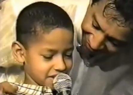martin elias cuando era niño