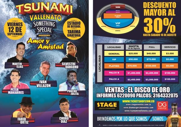 tsunami barranca vallenato 2014