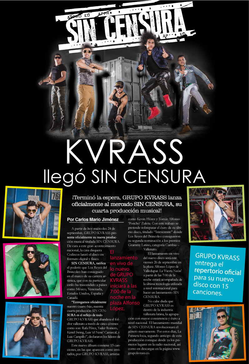 kvrass llego sin censura boletin