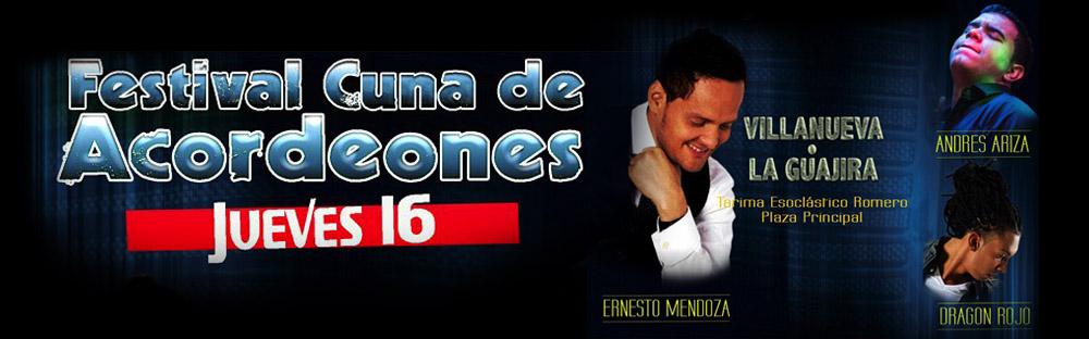 festival cuna de acordeones 2014 - jueves 16 de octubre