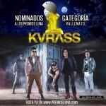 grupo kvrass nominado premios luna 2014