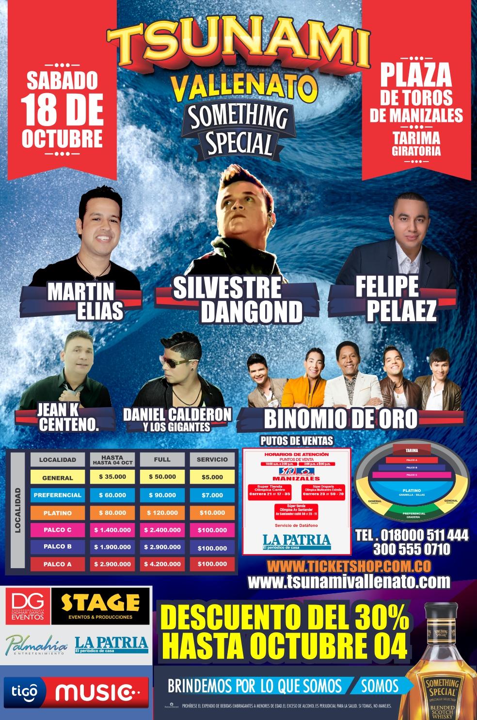 tsunami vallenato manizales 2014