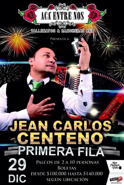 Jean Carlos Centeno en Aca Entre Nos - Cali 2014