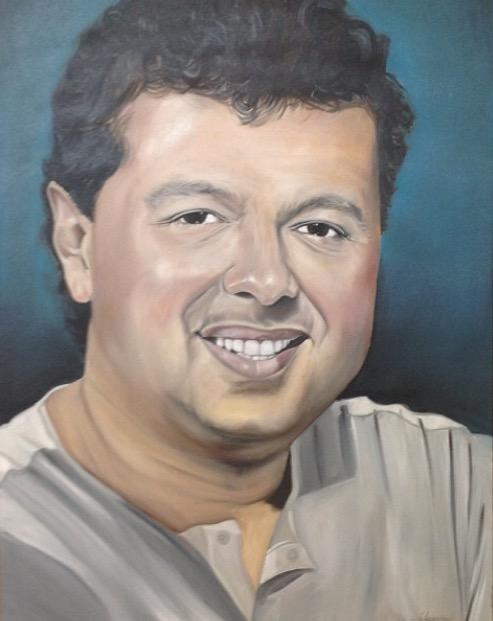 El Pintor Del Valle - Rafael Santos
