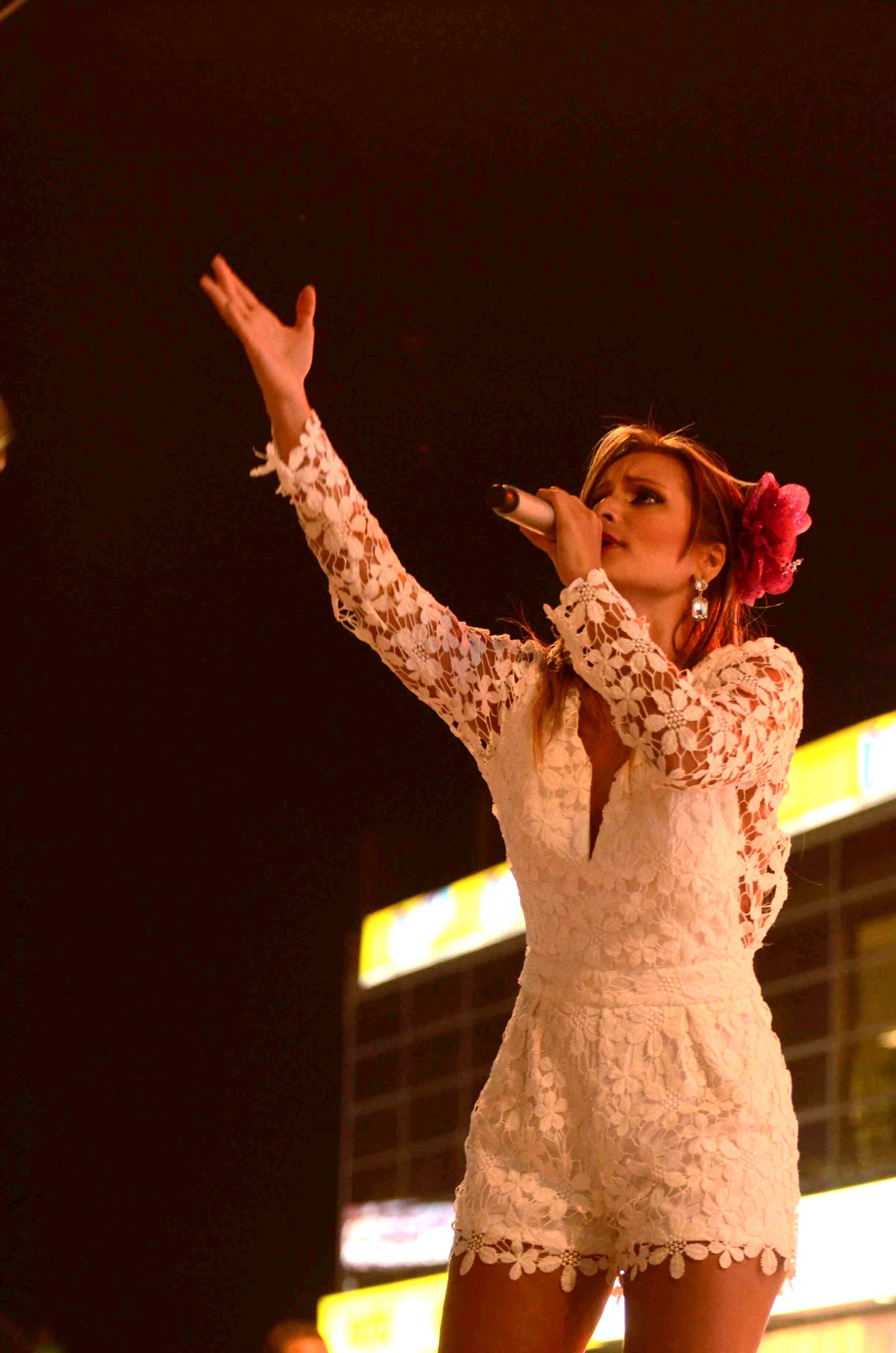 Margarita Rosa Doria Carrascal, Reina de la Canción Vallenata Inédita 2015. Foto Adamis Guerra