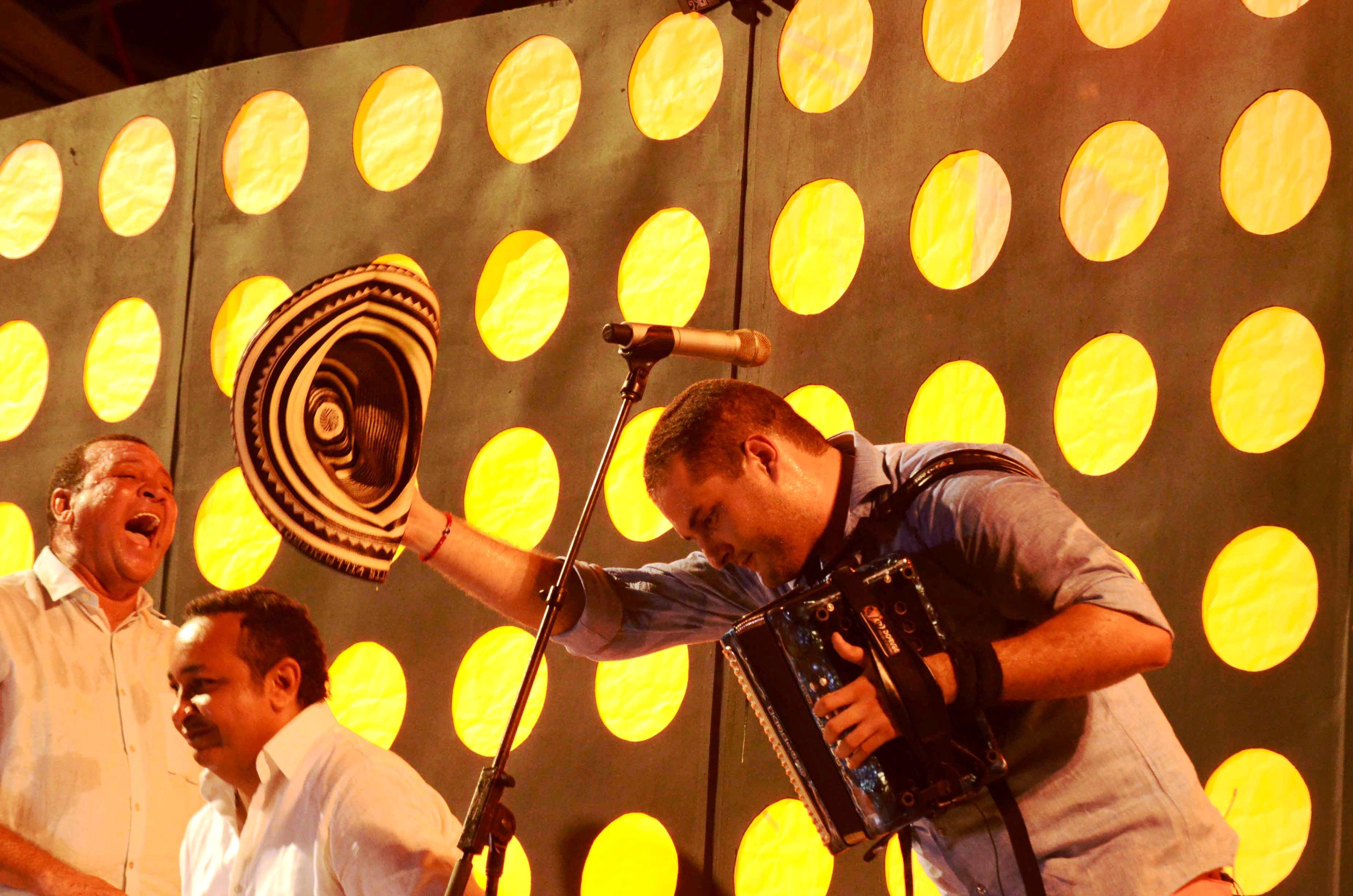 Mauricio de Santis Villadiego, Rey Vallenato 2015. Foto Adamis Guerra