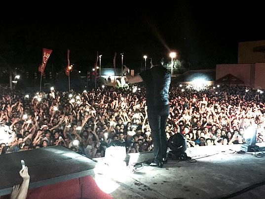 Paraguay y argentina disfrutan del espect culo en vivo de Noticias de espectaculos argentina
