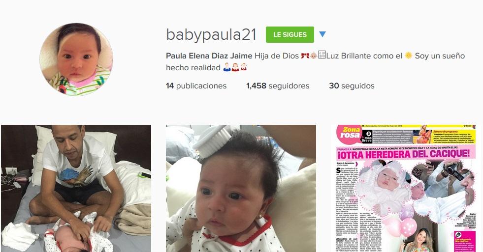 baby paula instagram