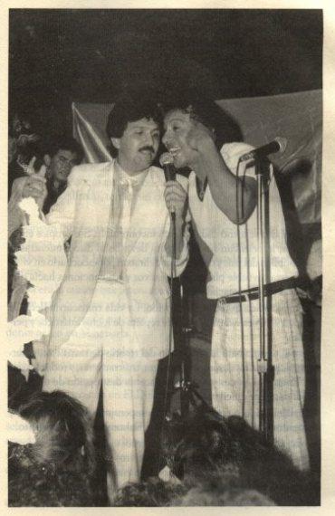 diomedes diaz cantando a duo con rafael orozco
