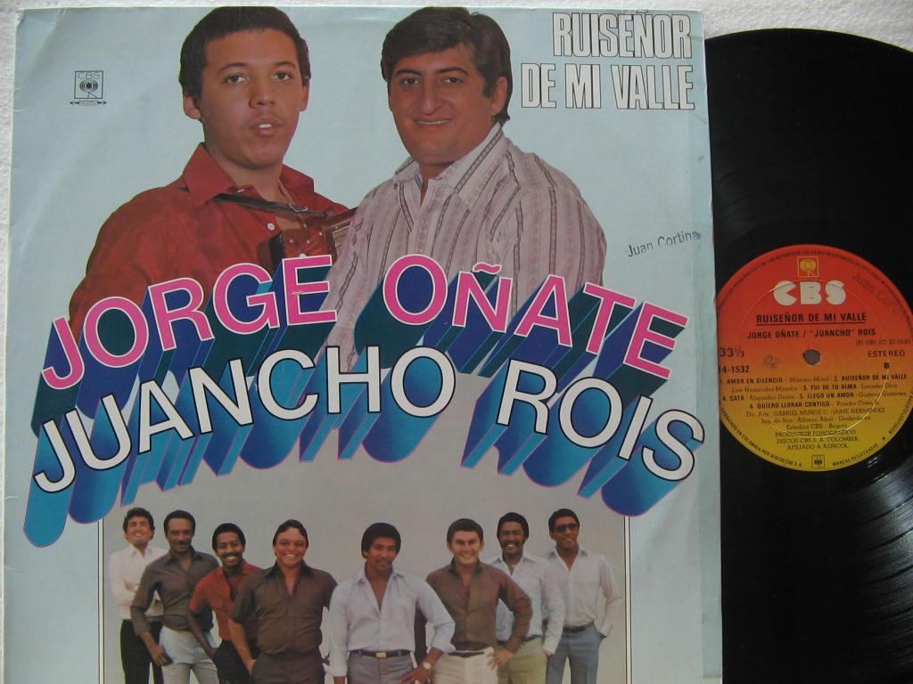 jorge oñate y juancho rois - 1981 - ruiseñor de mi valle