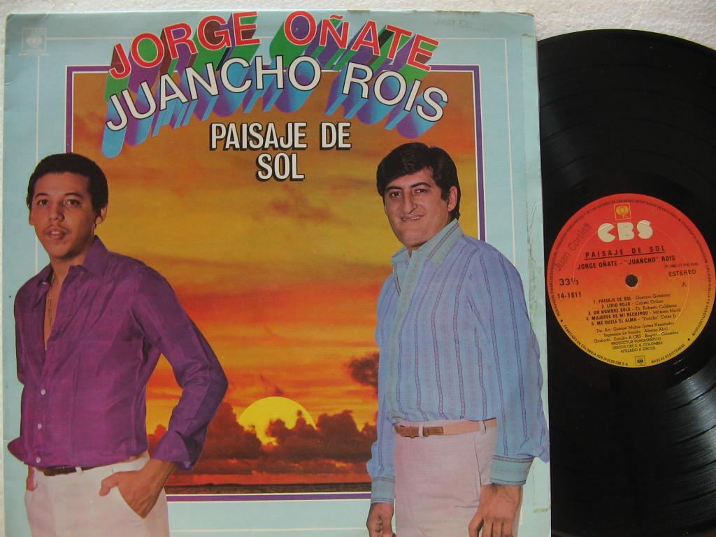 jorge oñate y juancho rois - 1982 - paisaje del sol