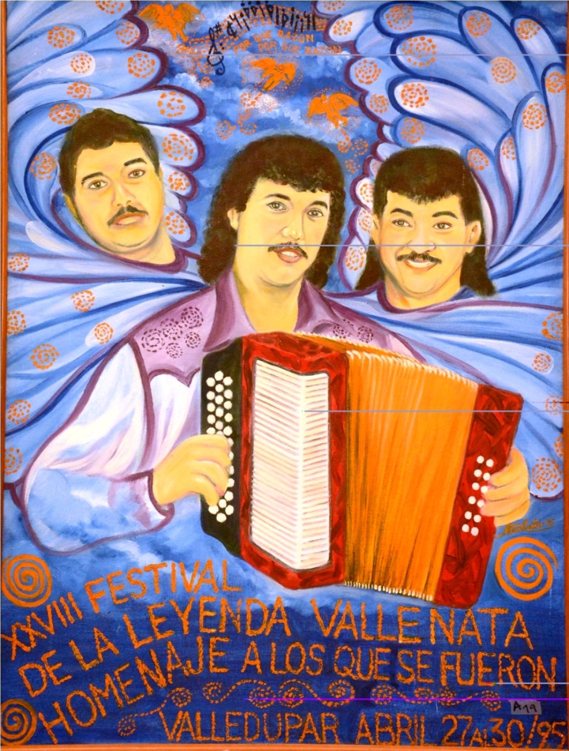 Afiche Festival Vallenato 1995