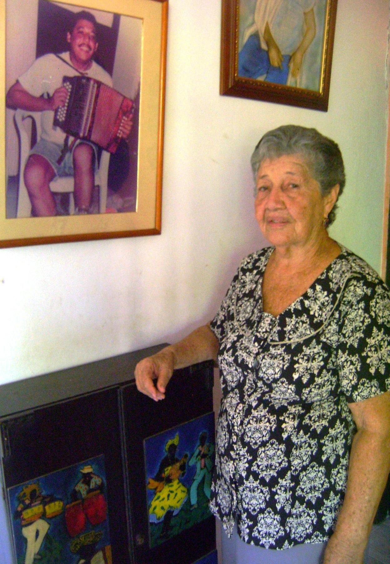 Dalia Zuñiga mamá Juancho Rois 1