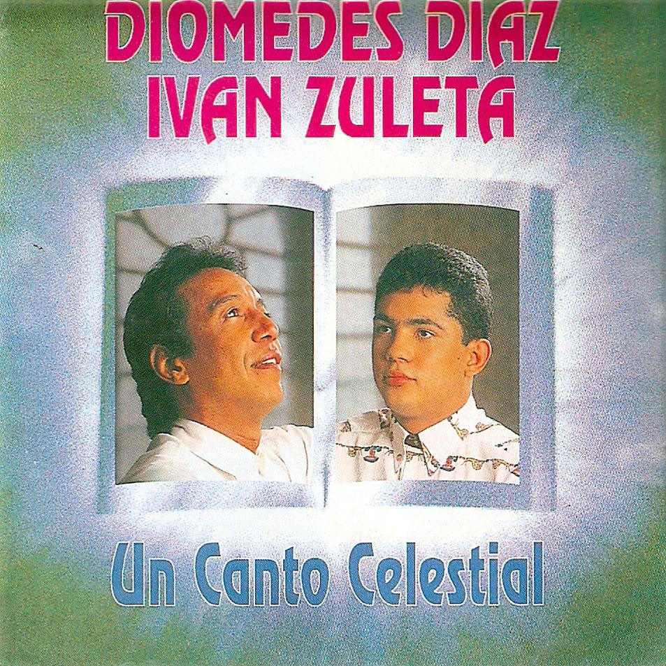Diomedes Díaz e Iván Zuleta - 1995 - Un Canto Celestial - Frontal