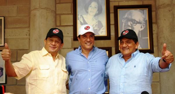 Rueda de Prensa Emiliano Zuleta, Rodolfo Molina Araujo y Poncho Zuleta.