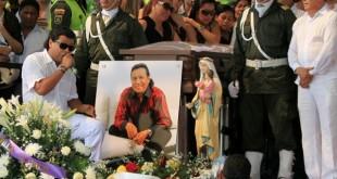 diomedes diaz virgen del carmen funeral 1