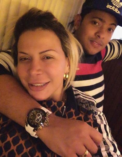Orlando Liñán y su novia Tita (4)