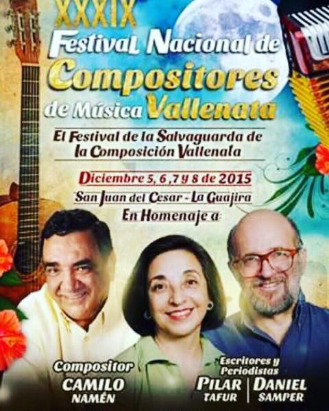 FESTIVAL DE COMPOSITORES DE SAN JUAN DEL CESAR 2015 -  GUAJIRA