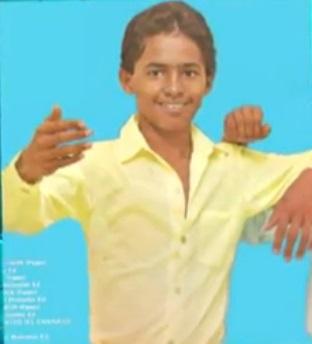 jorge celedon cuando era niño - 2