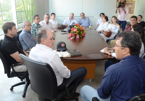 Reunión con el Gobernador del Cesar Franco Ovalle