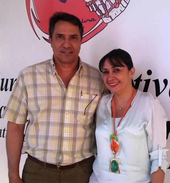 Rodolfo Molina Araujo y Andrea Ovalle