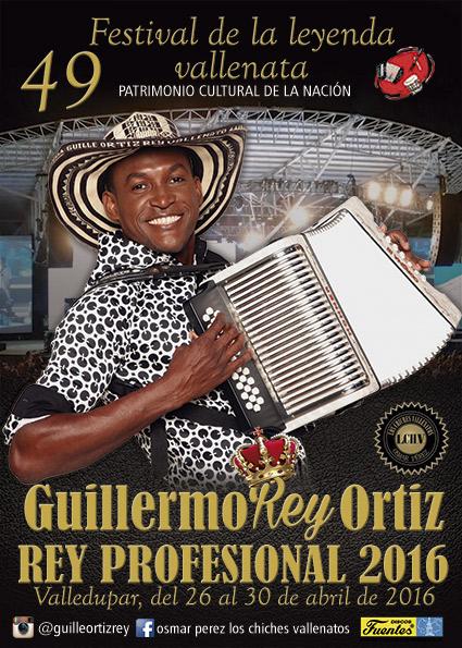 Guillermo Ortiz - Festival Vallenato 2016