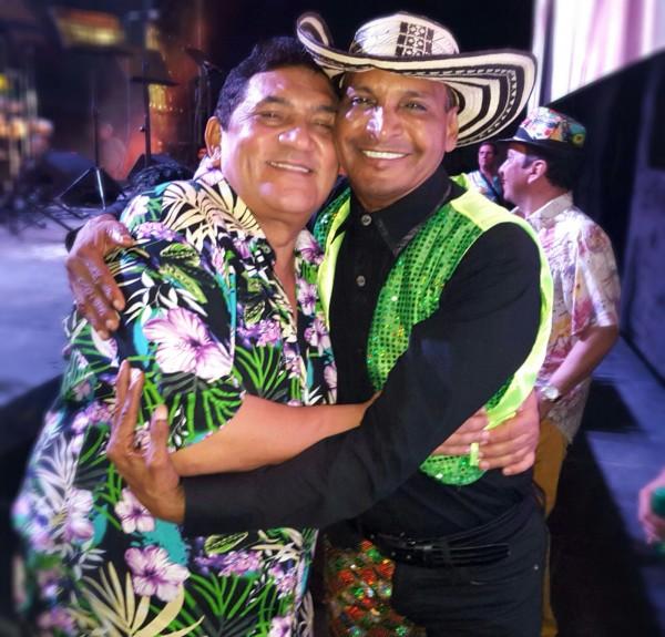 Poncho Zuleta y Farid Ortiz en el Festival de Orquestas 2016