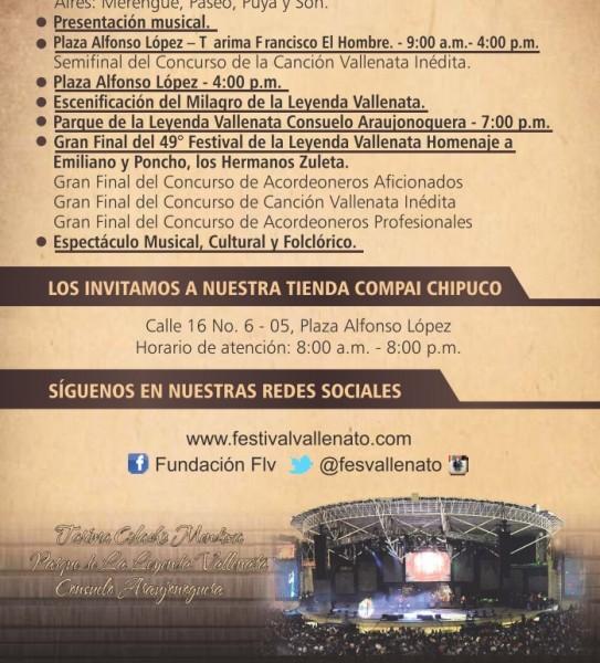 programación festival vallenato 2016 - 7