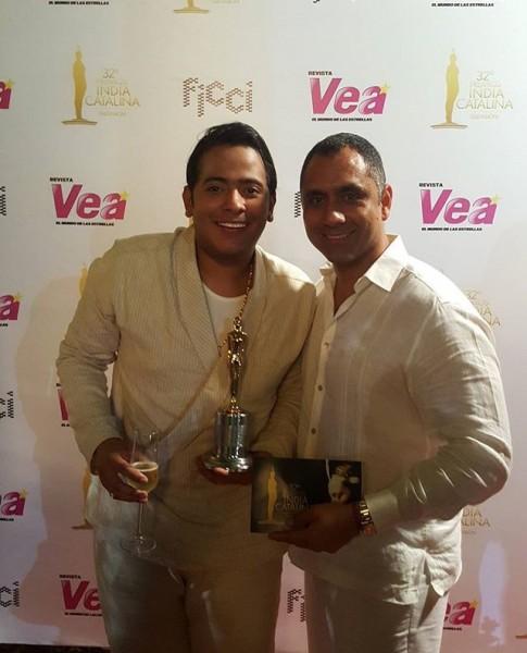 Orlando Liñán, Juan Bautista Escalona y elenco Diomedes en India Catalina (5)