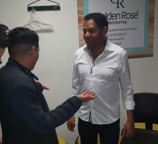 Jorge Celedón El Pollo Isra y Jean Carlos Centeno en Monterrey (4)