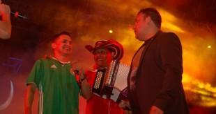 Jorge Celedón El Pollo Isra y Jean Carlos Centeno en Monterrey (5)