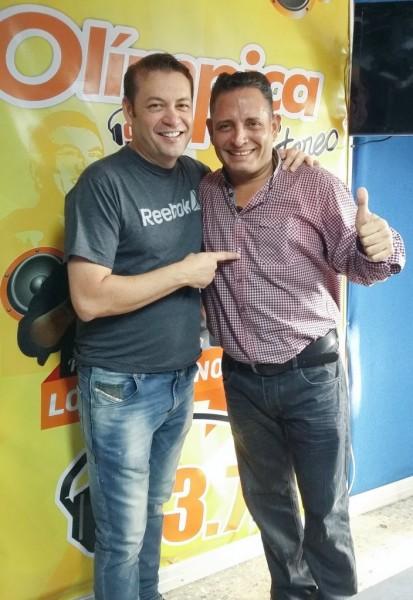 Penchy Castro y Julián Rojas