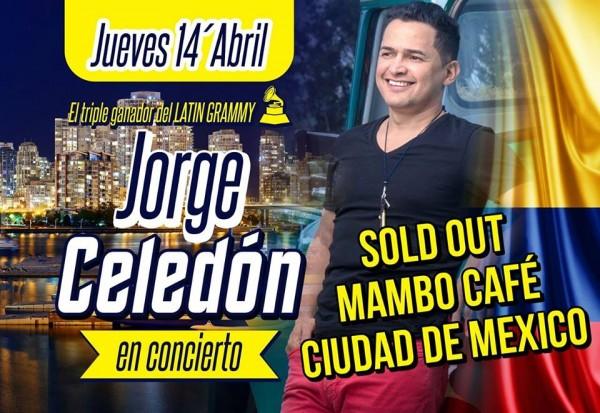 jorge celedón - ciudad de méxico y monterrey 2016