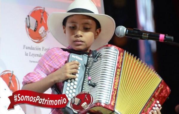 rey vallenato infantil 2016 - sergio moreno
