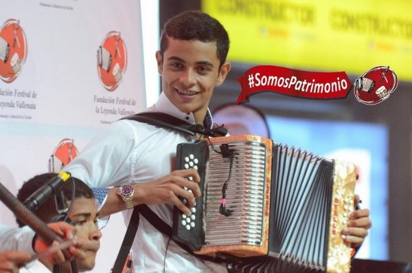 rey vallenato juvenil 2016 - alberto ovalle