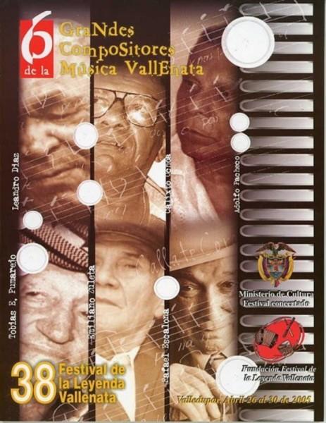 festival vallenato 2005 homenaje a compositores
