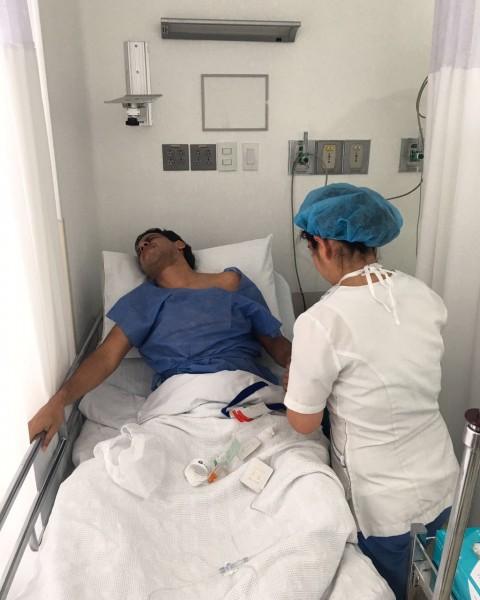 Martin Elías en urgencias vesícula