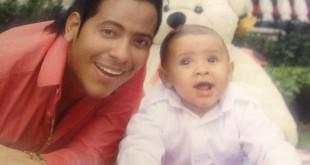 Orlando Liñán y su hijo Max (1)