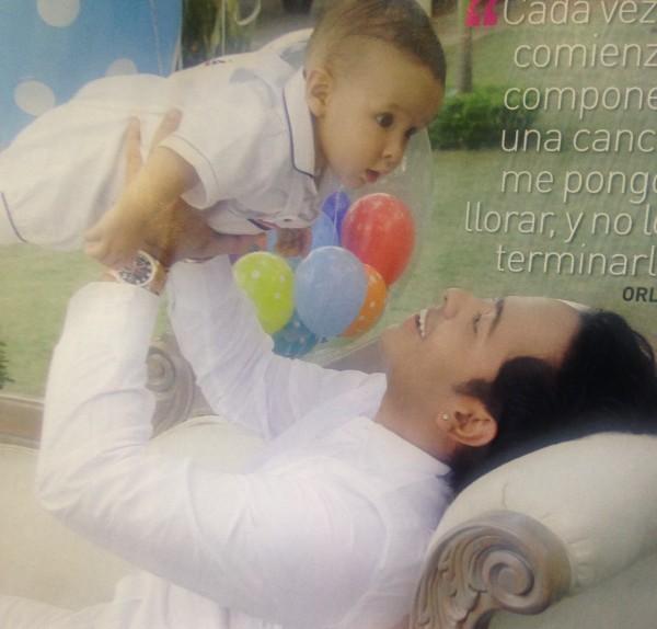 Orlando Liñán y su hijo Max (2)