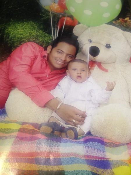 Orlando Liñán y su hijo Max (3)