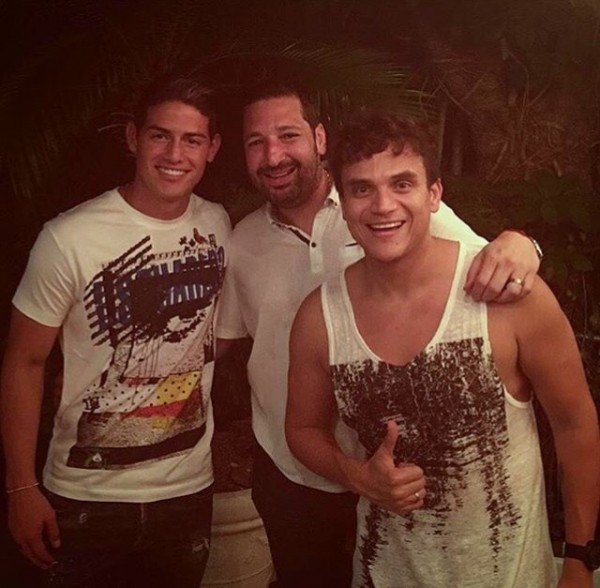 SIlvestre Dangond y James Rodríguez (2)