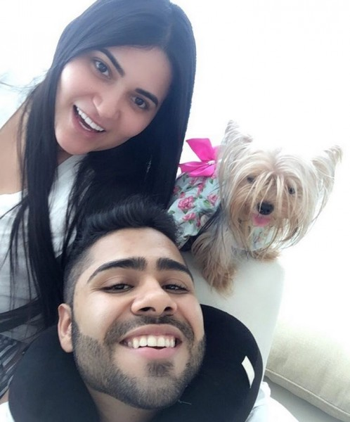 lucas dangond y su novia margarita vega - 4