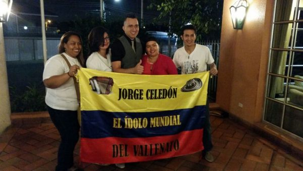 jorge celedón club de fans en ecuador