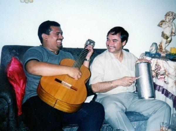 Pedro Muriel y Erick Escobar