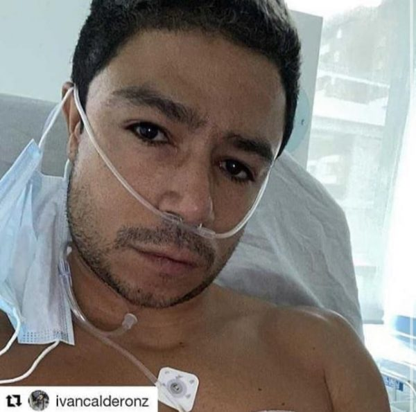 Daniel Calderón y la razón por la que tuvo que ser operado recientemente